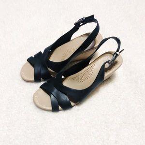 Ugg Australia wedge heels sandals size 6